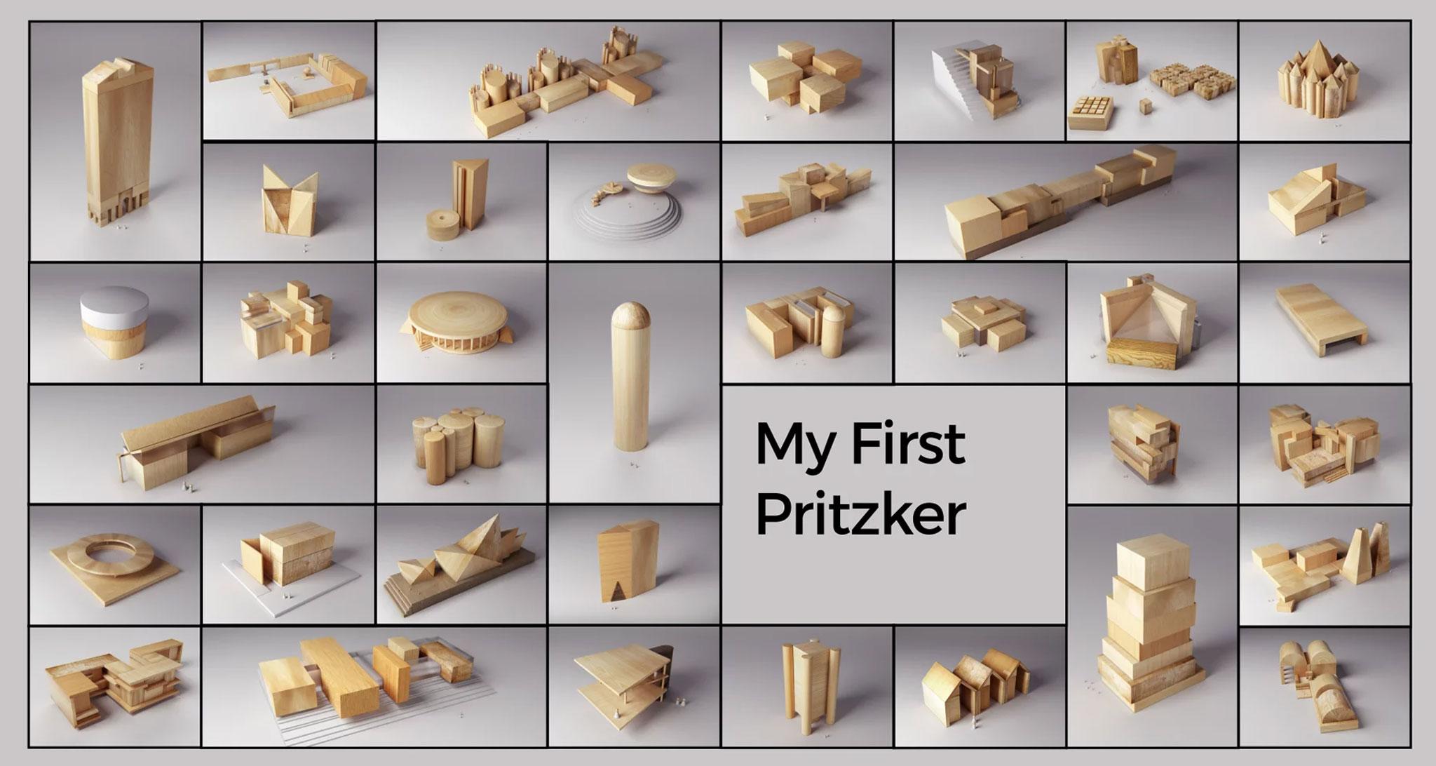 Mi primer Pritzker por Andrea Stinga. Cortesía de Andrea Stinga