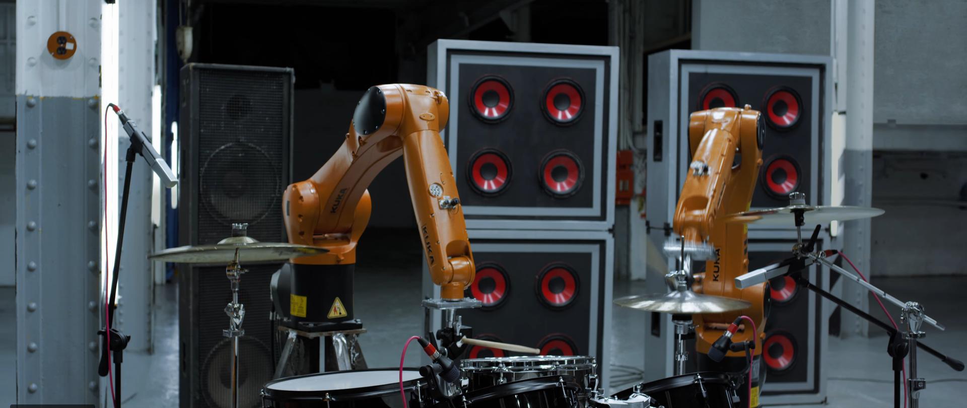 AUTOMATICA. Robots Vs. Music por Nigel Stanford