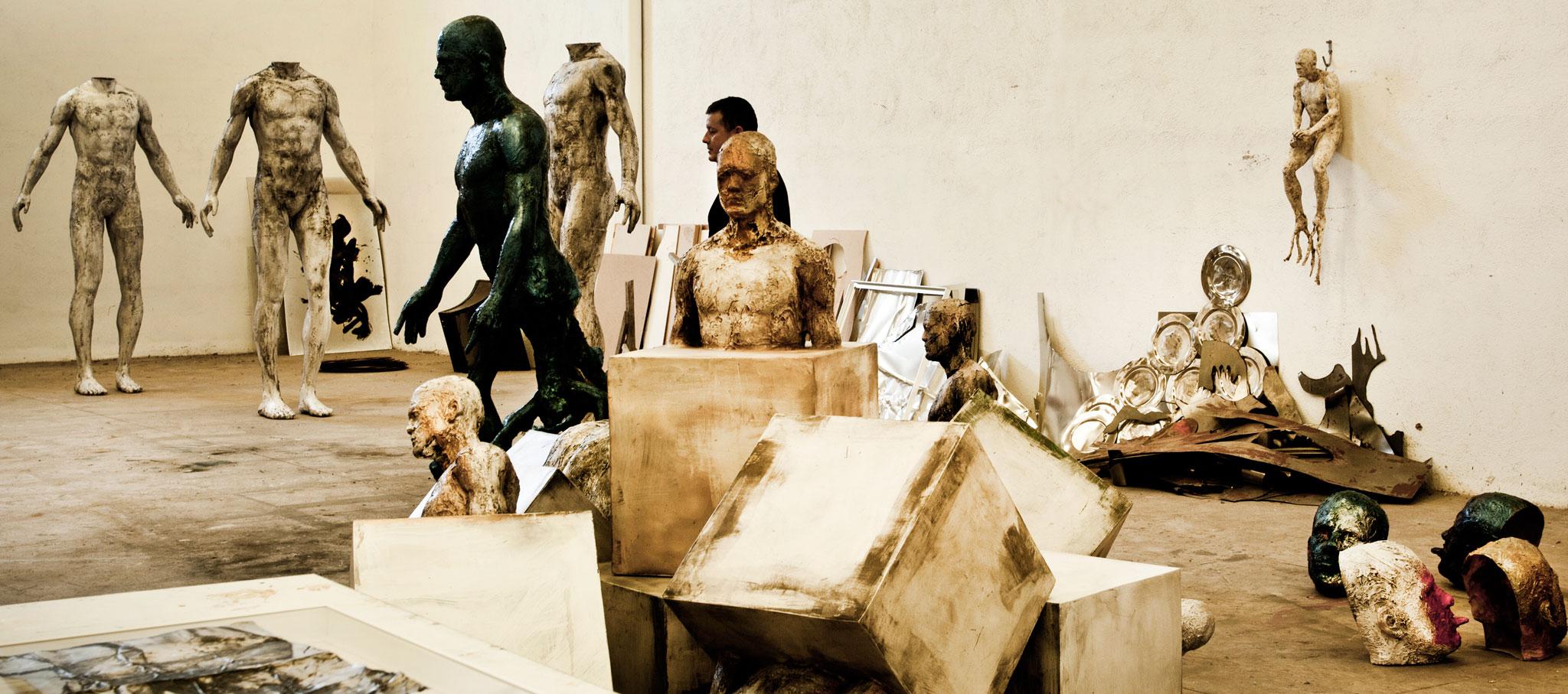 Estudio de Damià Díaz. Imagen cortesía de Mostra Espanha