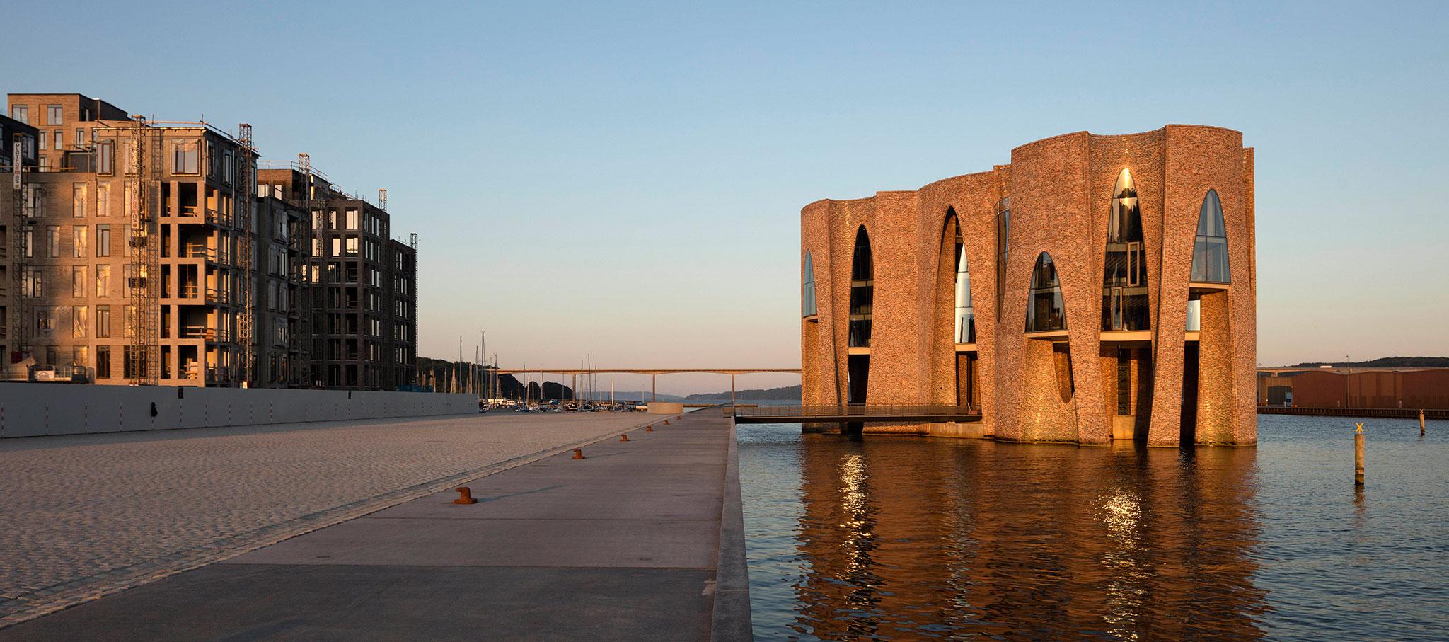 Sede de KIRK KAPITAL, por Olafur Eliasson y su estudio. Fotografía por Anders Sune Berg