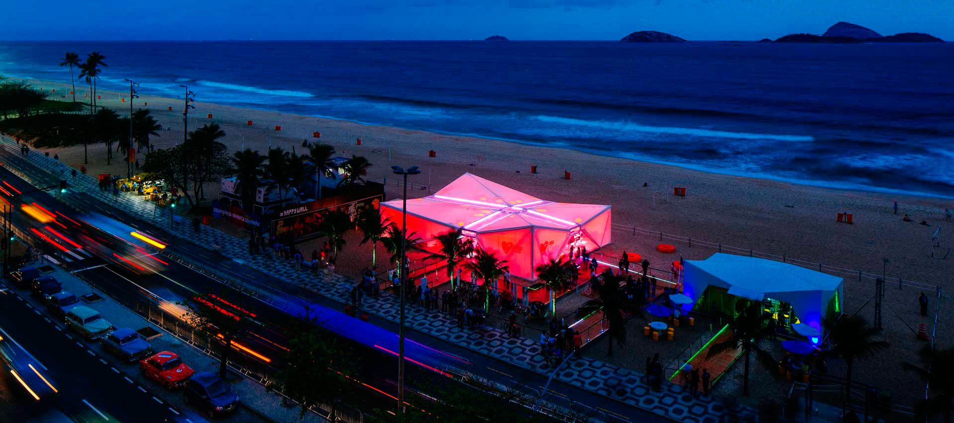 Pabellón Danés en Río de Janeiro por Henning Larsen Architects. Fotografía @ Pedro Kok