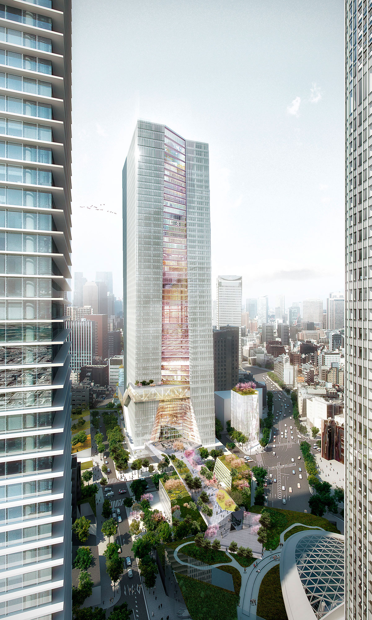 OMA introduced its first residential high-rise for New York 98