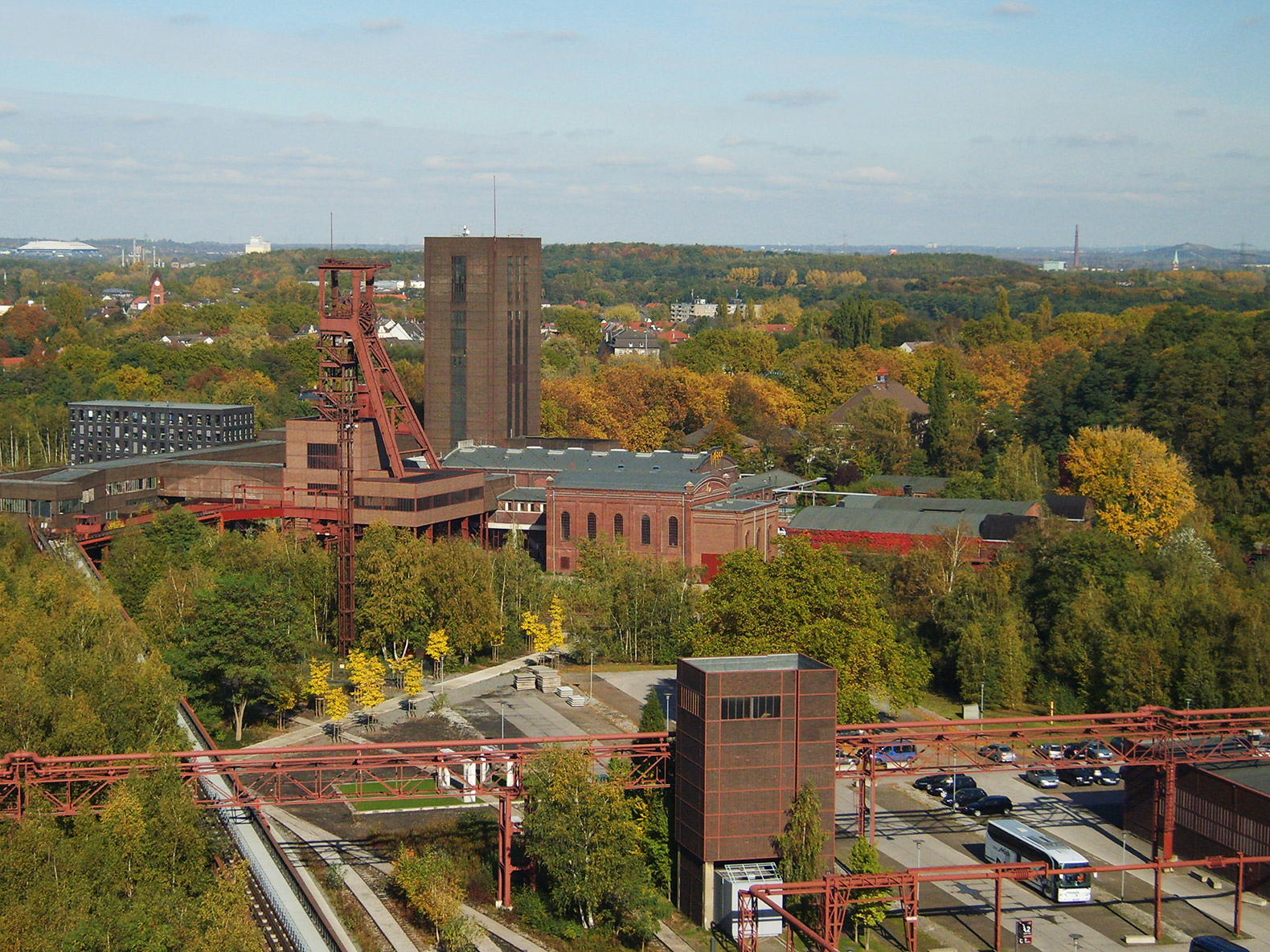 Industrial Area of Zeche Zollverein, Essen, Germany. Photograph courtesy of CC-BY-SA-2.5, Rainer Halama