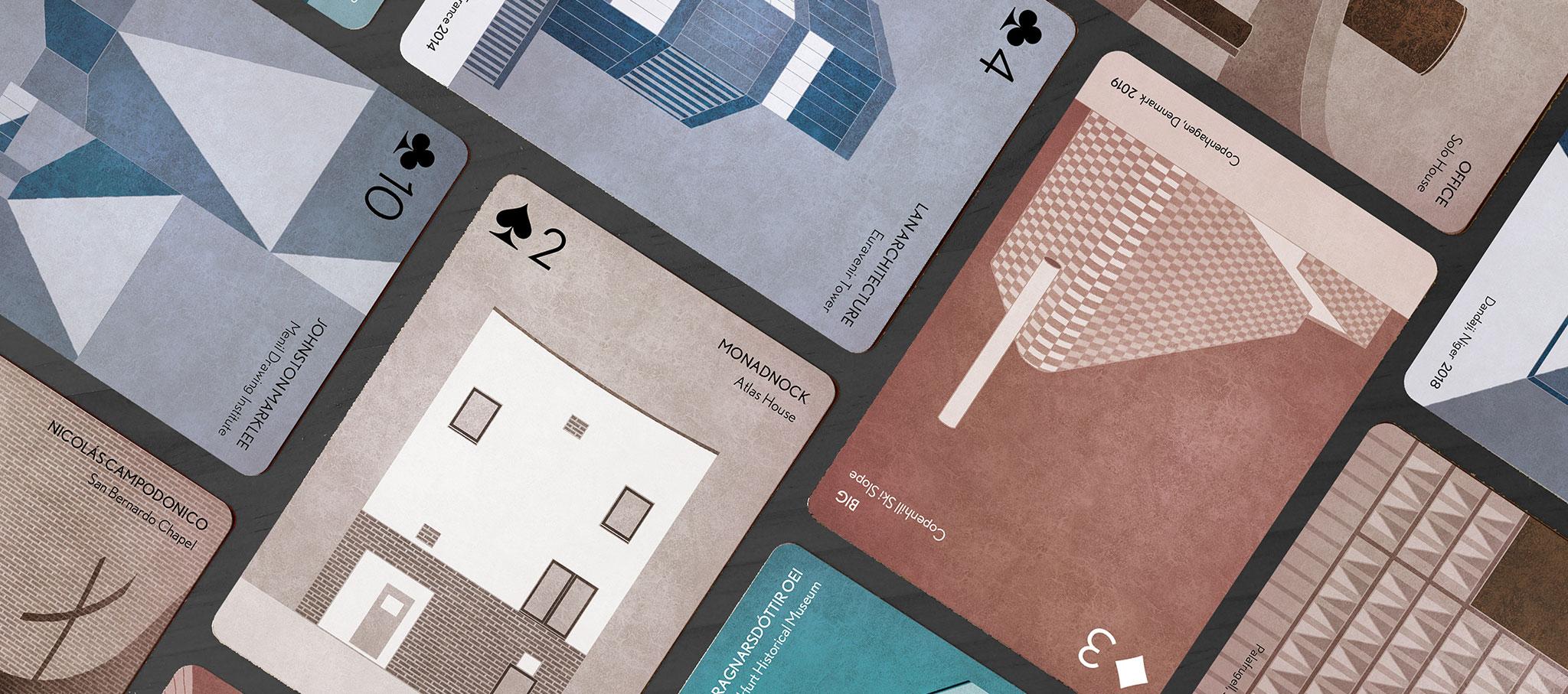 SCALA · Architecture Playing Cards por Arquitectura a contrapelo