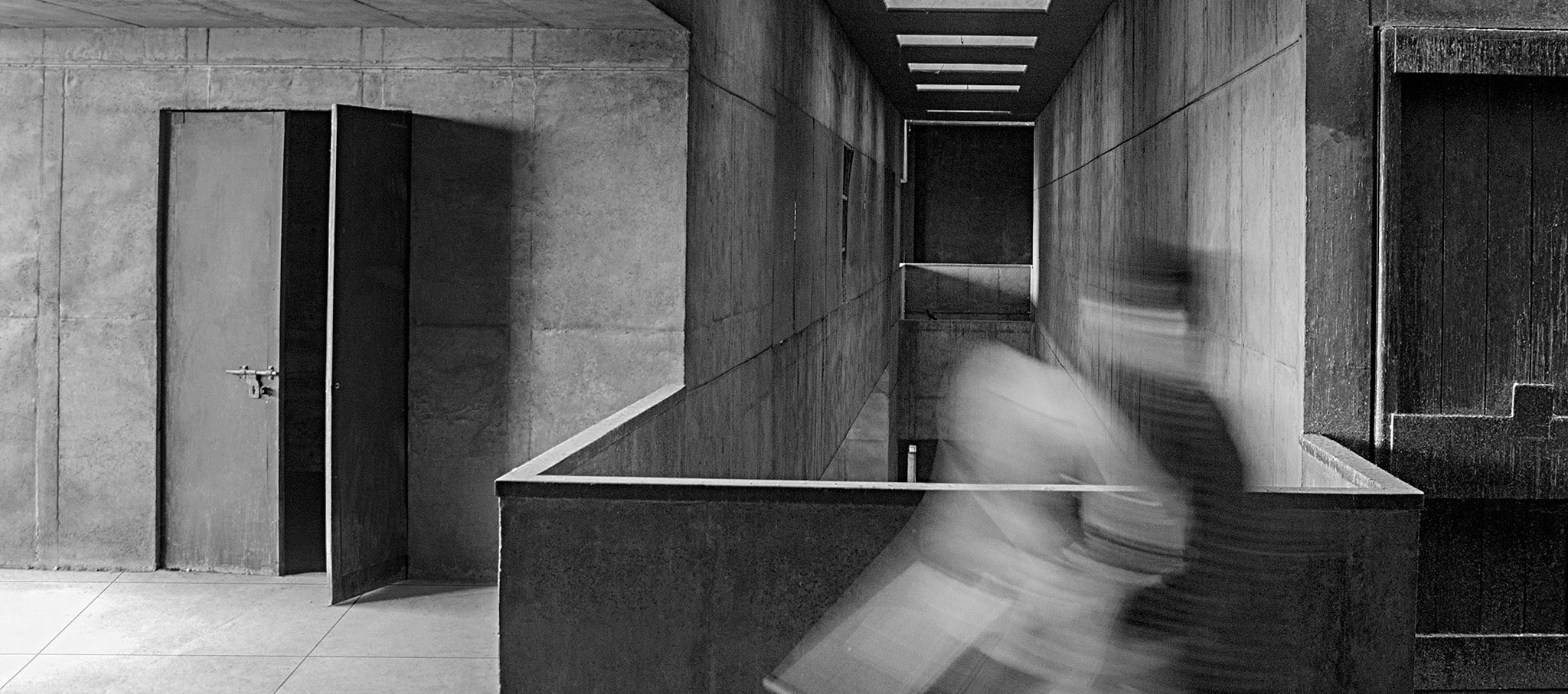 Premabhai Hall. Imagen cortesía de VSF / Premio Pritzker de Arquitectura