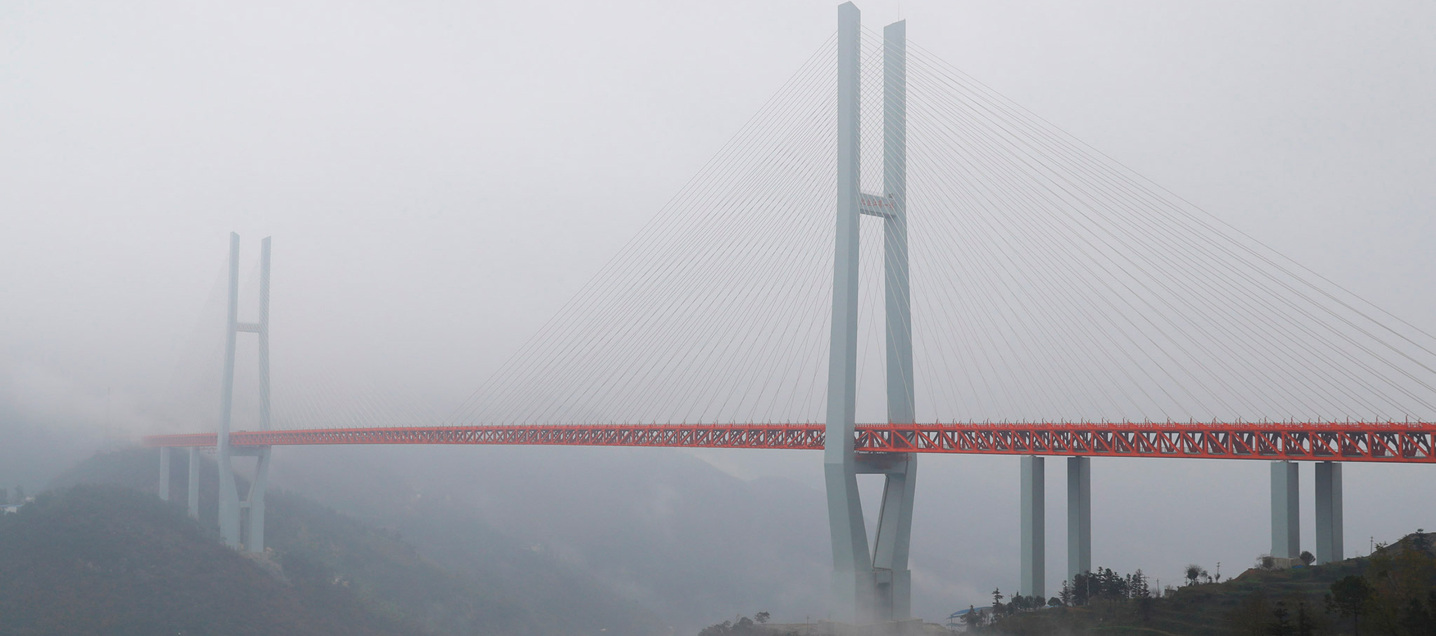Beipanjiang Bridge. Image courtesy of ImagineChina