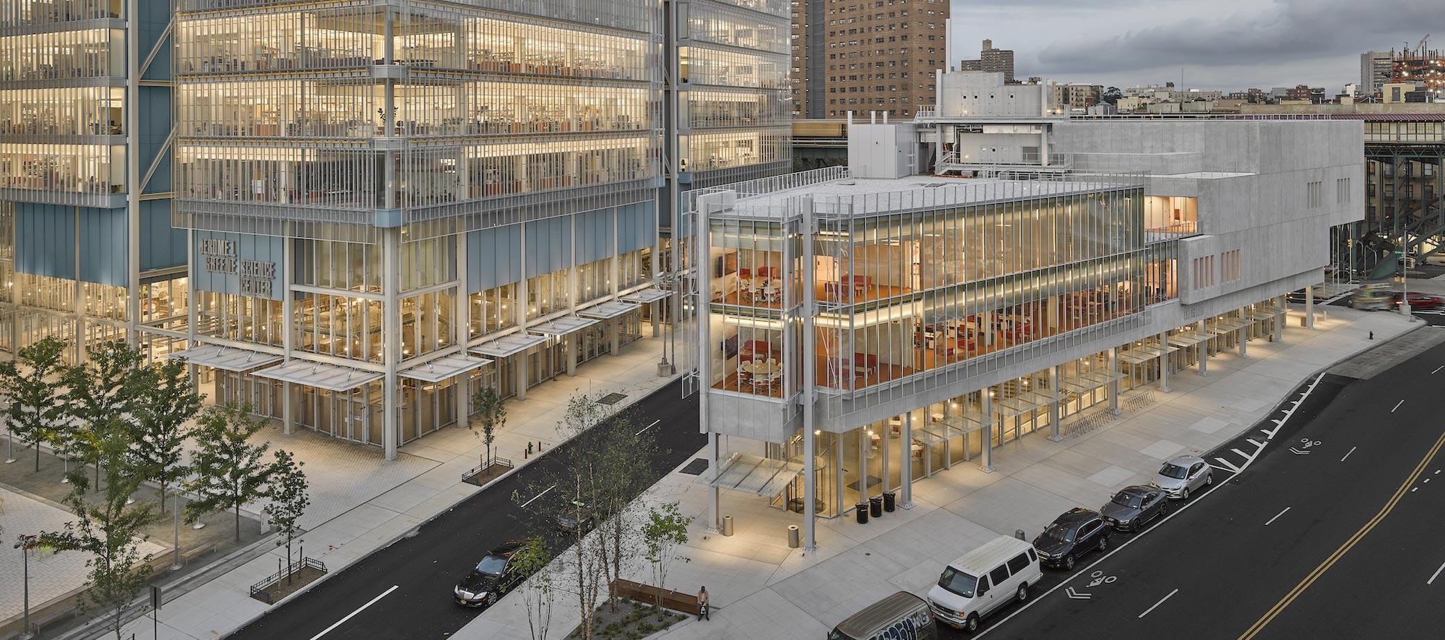 The Forum por Renzo Piano. Fotografía por Frank Oudeman, cortesía de Columbia University