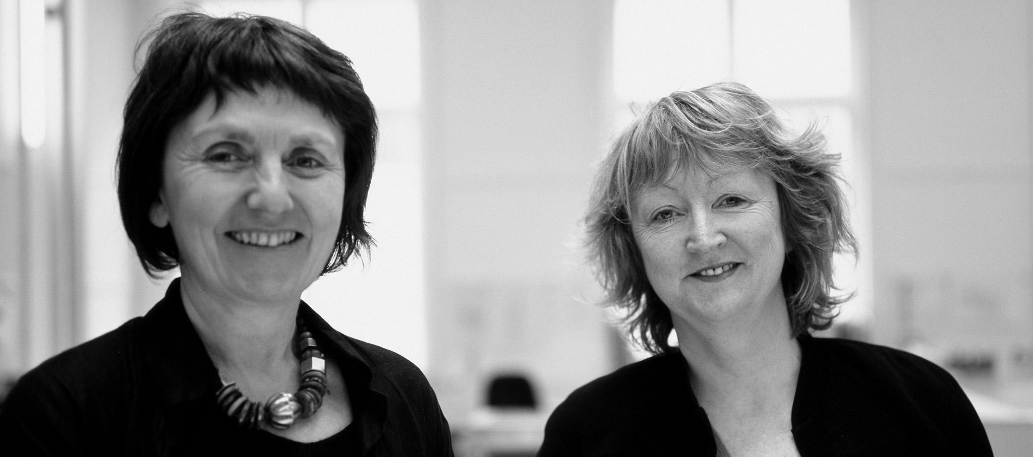 Yvonne Farrell y Shelley McNamara. Imagen cortesía de La Biennale di Venezia