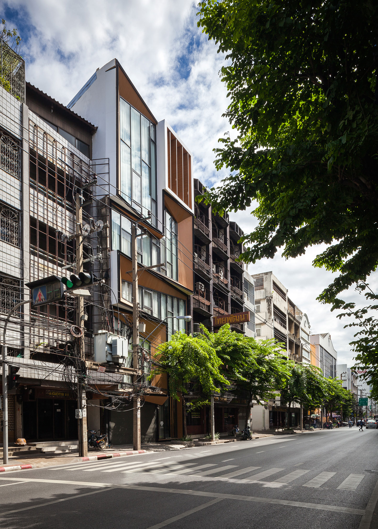 Vista exterior. Siri House por IDIN Architects. Fotografía © Spaceshift Studio