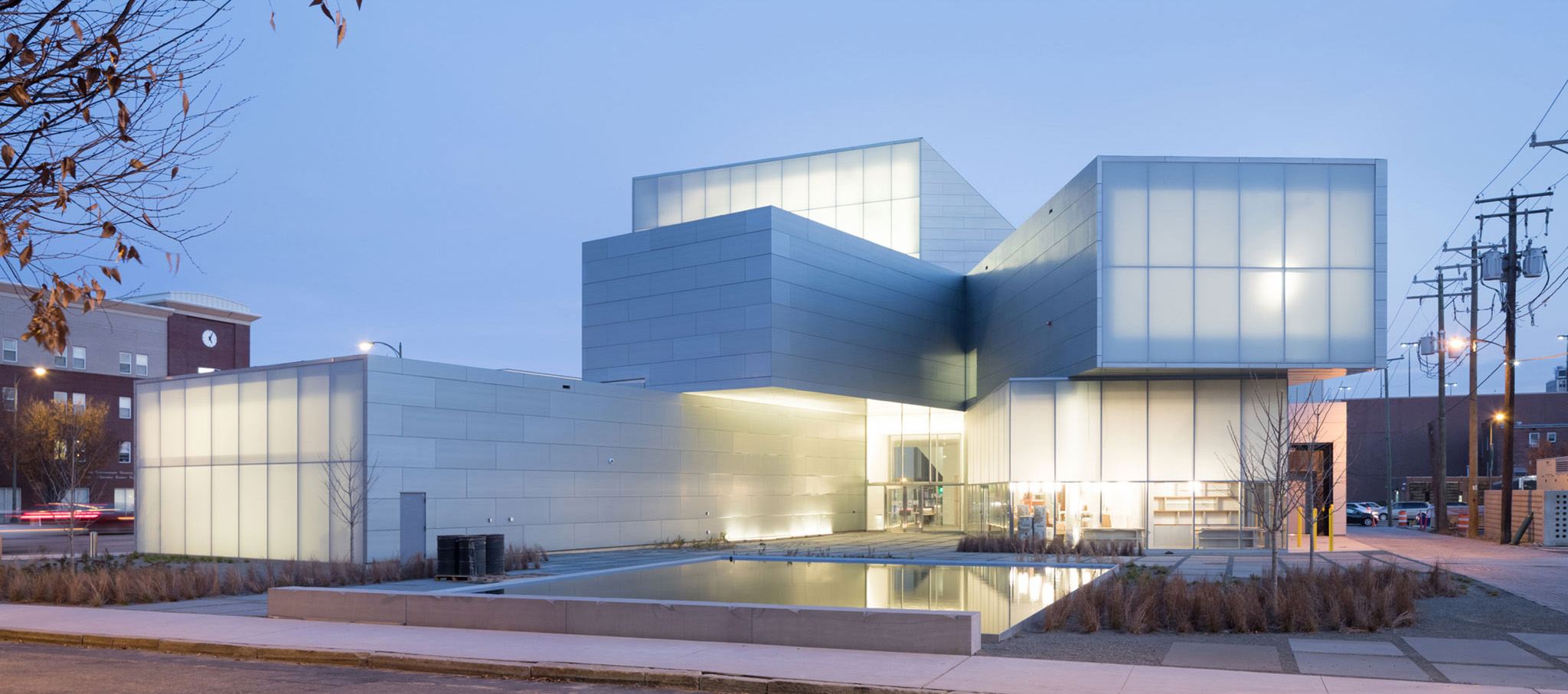 Institute for Contemporary Art, VCU by Steven Holl Architects. Photograph © Iwan Baan