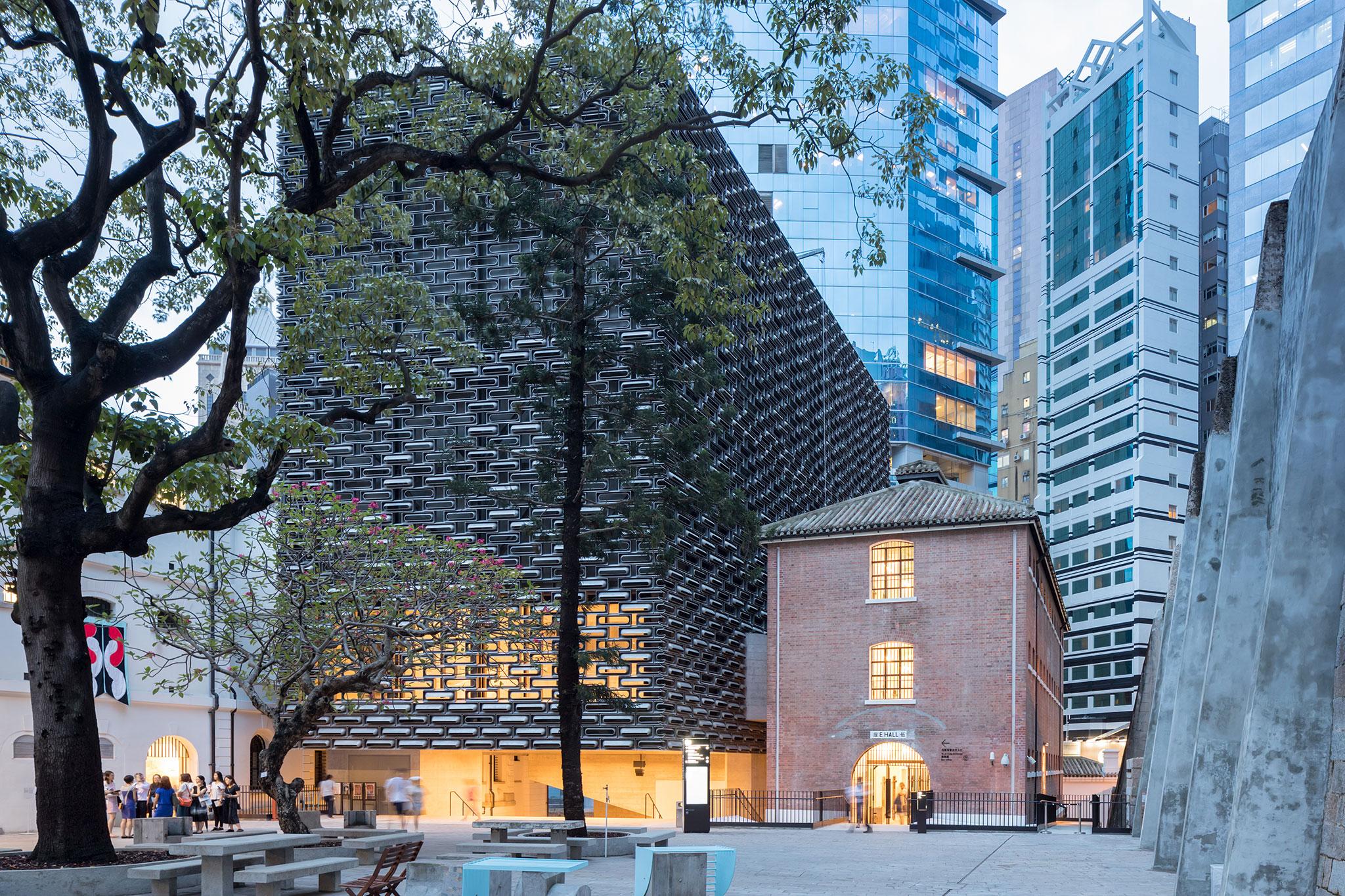 Tai Kwun, new Centre for Heritage & Art by Herzog & de Meuron. Photograph by Iwan Baan