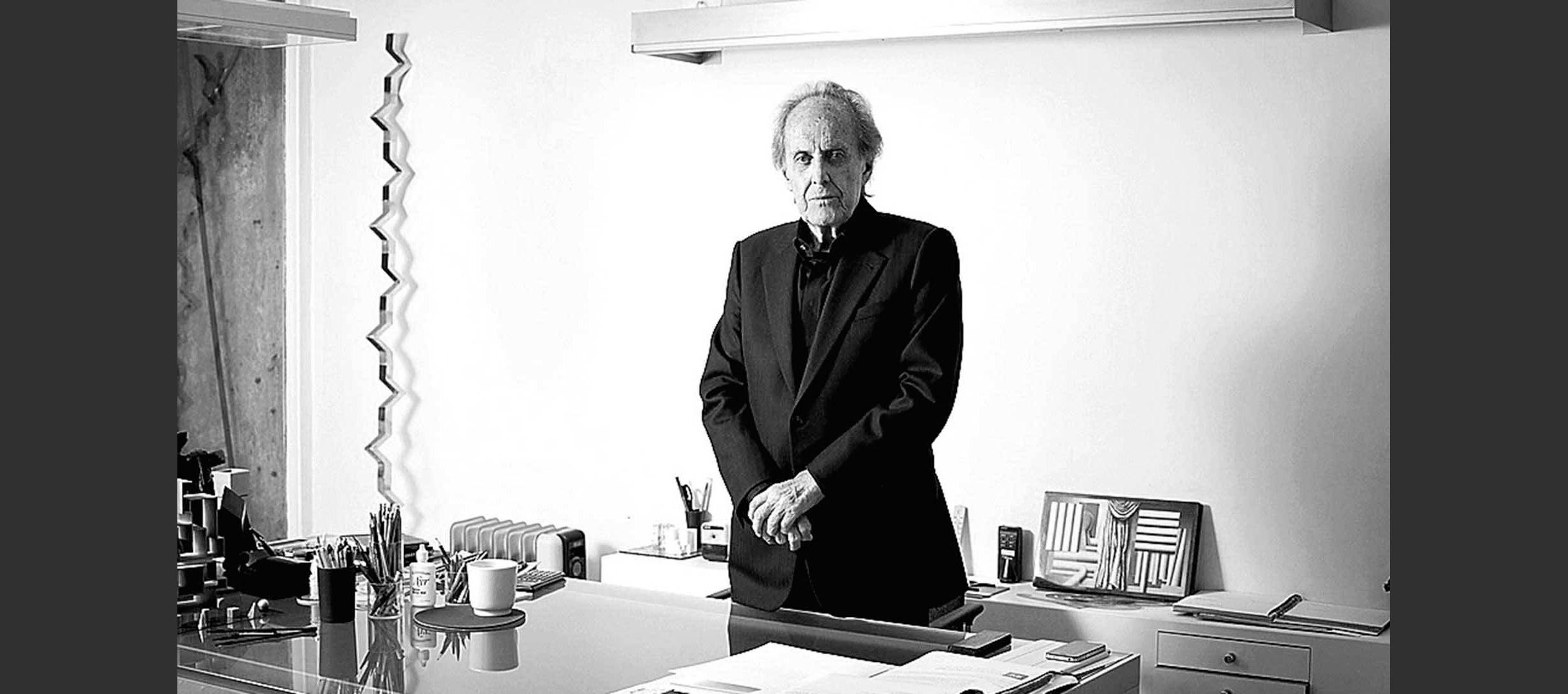 Teodoro González de León, al cumplir 89 años. Egia/Agencia Reforma