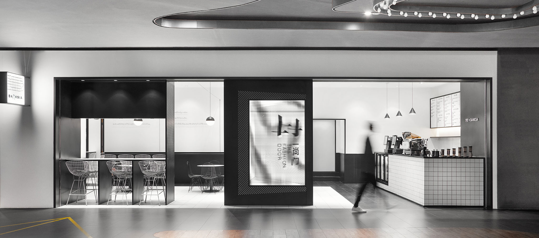 Entrance. TFD Restaurant by Leaping Creative. Photograph by Zaohui Huang