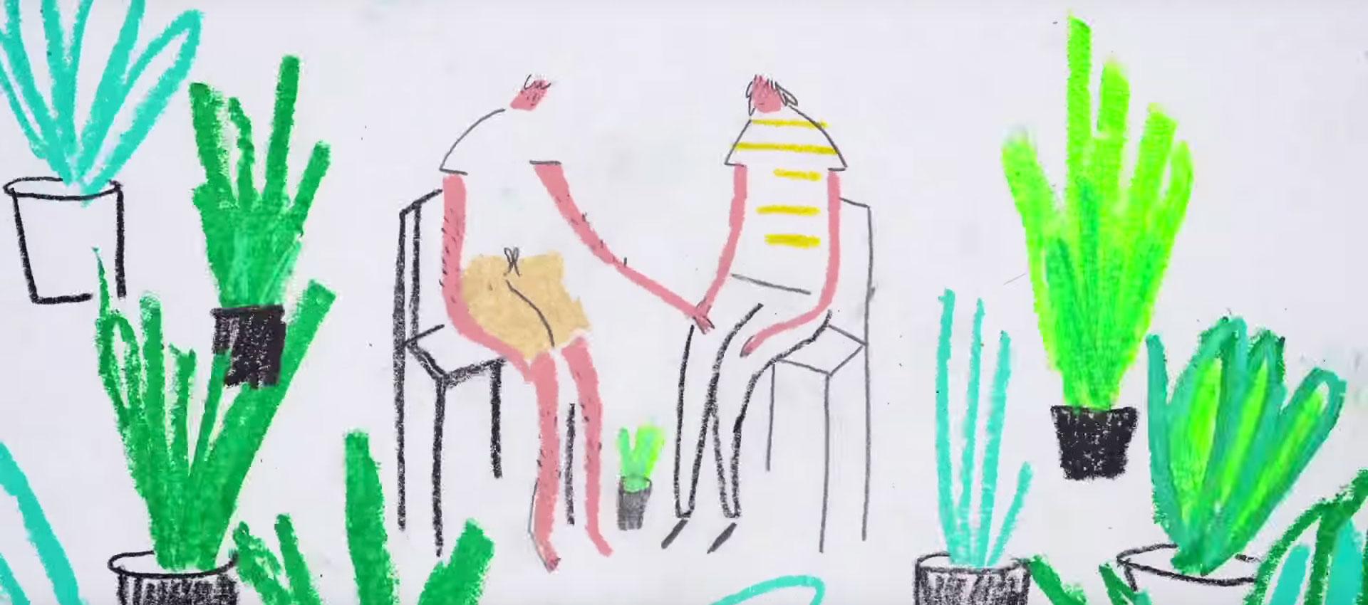 """Video musical para la canción """"It's OK"""" de Tom Rosenthal, por Hannah Jacobs"""