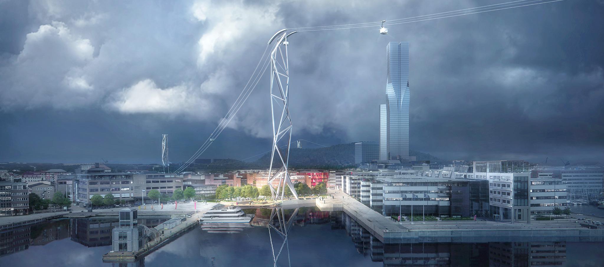 Kjellgren Kaminsky es el arquitecto local del proyecto, mientras que Knippers Helbig es responsable de la estructura y los asesores de ingeniería. Licht y Soehne asesoraron han realizado el diseño de iluminación. Imagen de Plompmozes / UNStudio