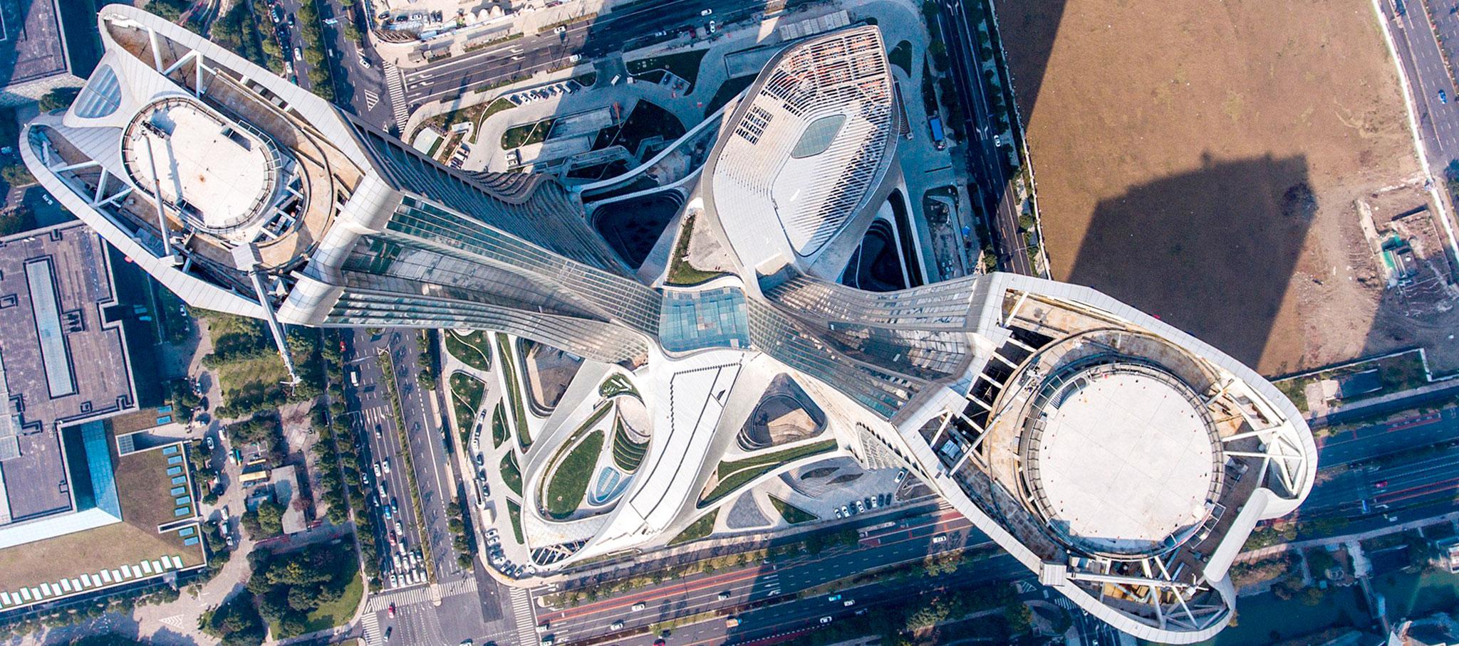 Complejo de Raffles City Hangzhou por UNStudio