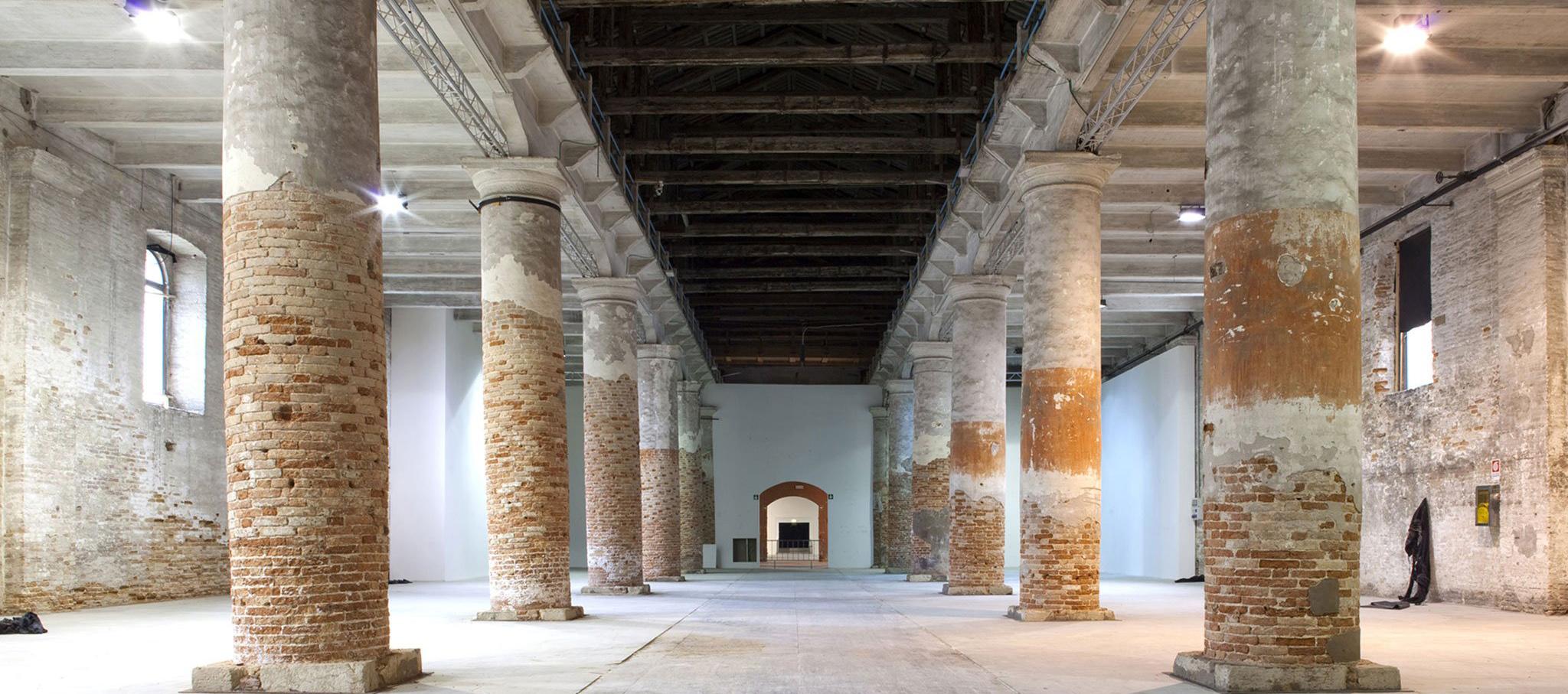 Venice Biennale Corderie Arsenale, Venecia. Fotografía © Giulio Squillacciotti. Imagen cortesía de La Biennale di Venezia