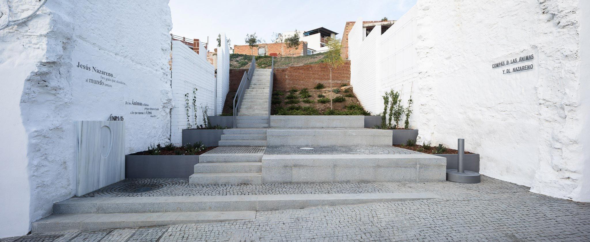 Croquis. Compás de las Ánimas y del Nazareno por WaterScales arquitectos. Fotografía © Fernando Alda