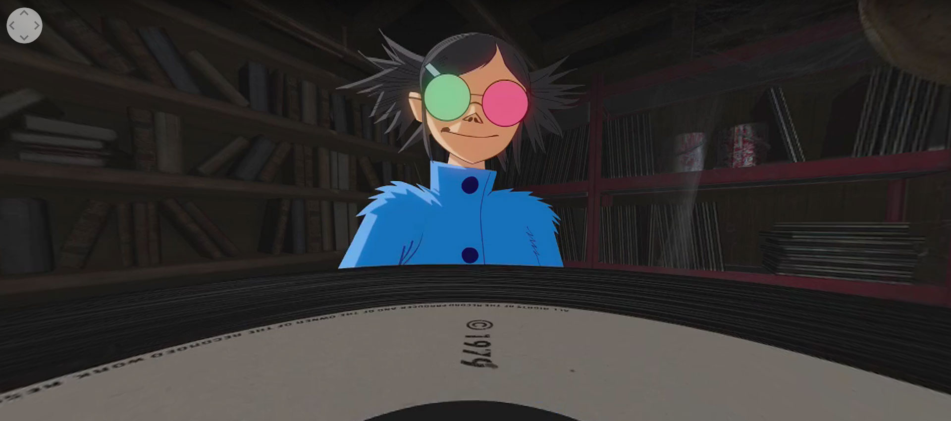 Saturnz Barz (Spirit House) 360 by Gorillaz
