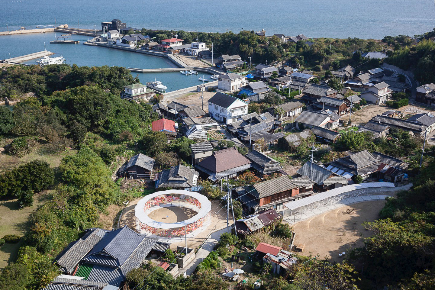 "Inujima ""Art House Project"" Benesse Art Site Naoshima. Photography © Takashi Homma"