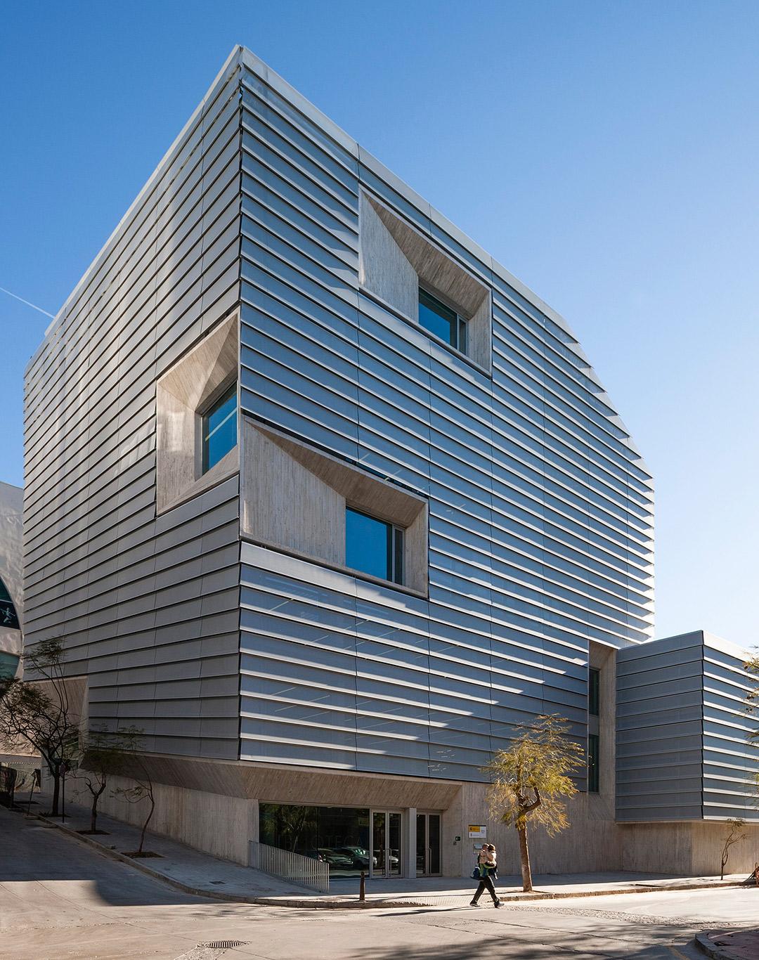 Biblioteca Pública de Ceuta, por ParedesPedrosa arquitectos. Fotografía © Fernando Alda