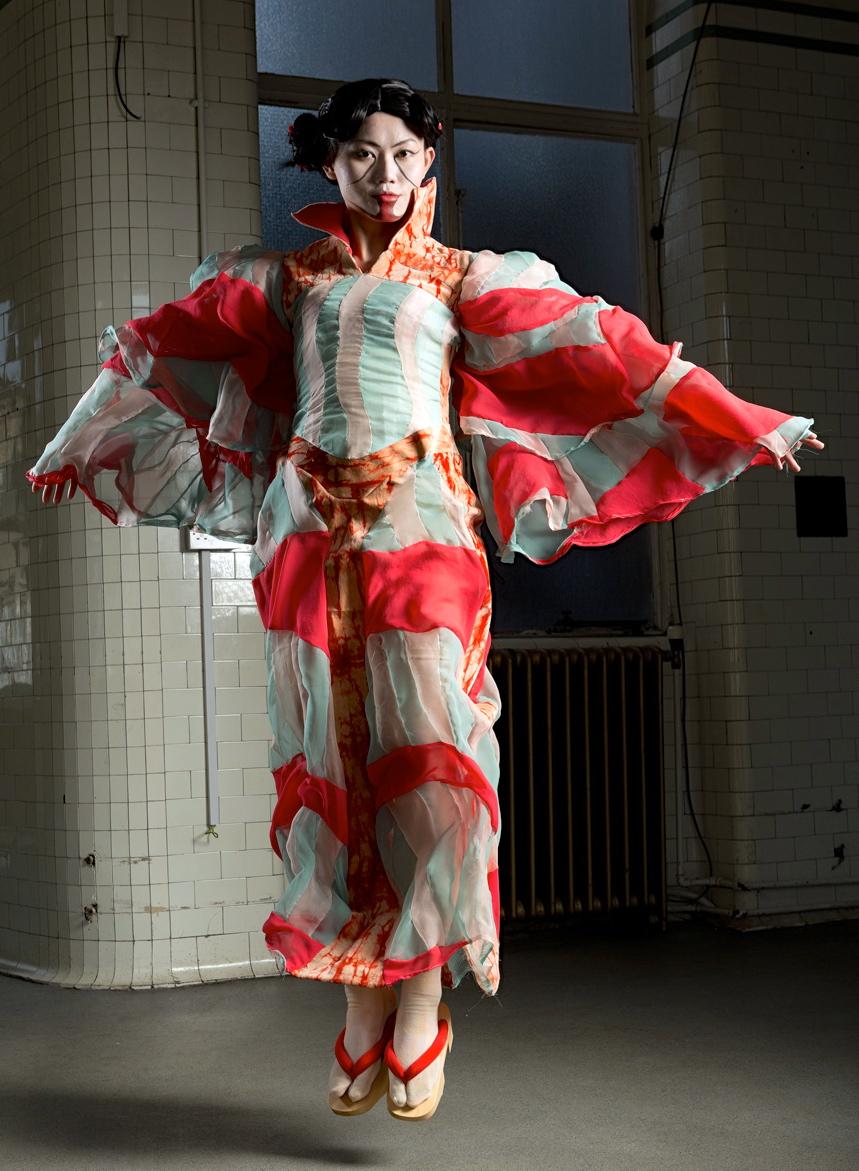 Imoseyama Onna Teikin. Thesis Design, by Amanda Mattes. MFA Performance Costume. Edinburgh College of Arts, 2013