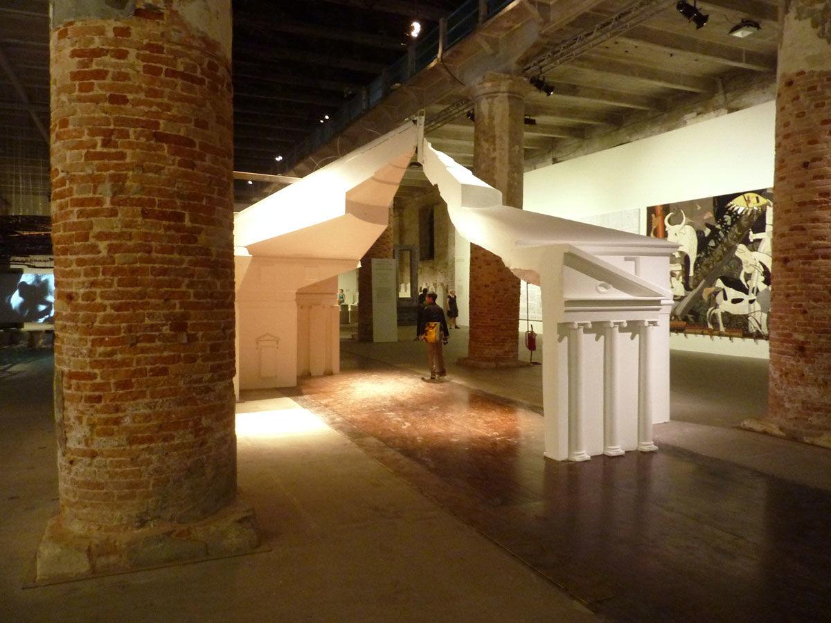 "Contribution  to the Venice Biennale. 2012. ""Villa Rotunda Redux"" by F.A.T. Architecture"