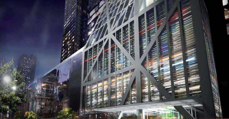 Renders de la Torre MoMA de Jean Nouvel
