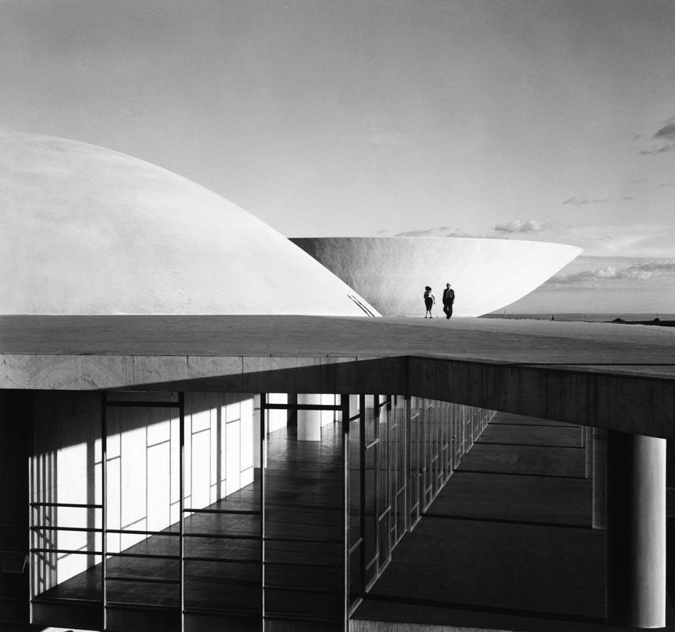Brasilia en construcción. Fotografía © Marcel Gautherot