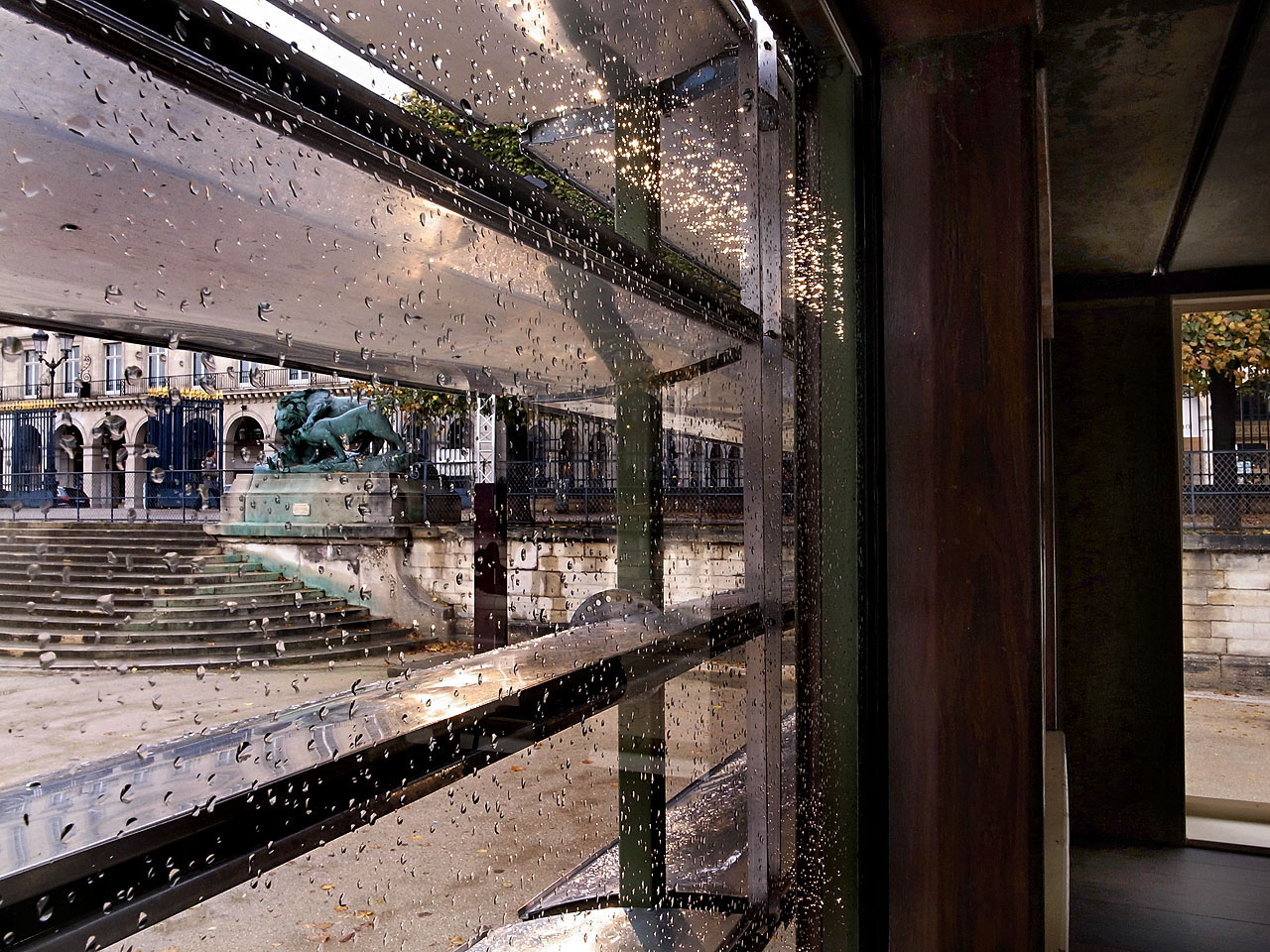 Window detail. Jean Prouvé - Ferembal House - (1948) - Adaptation by Jean Nouvel
