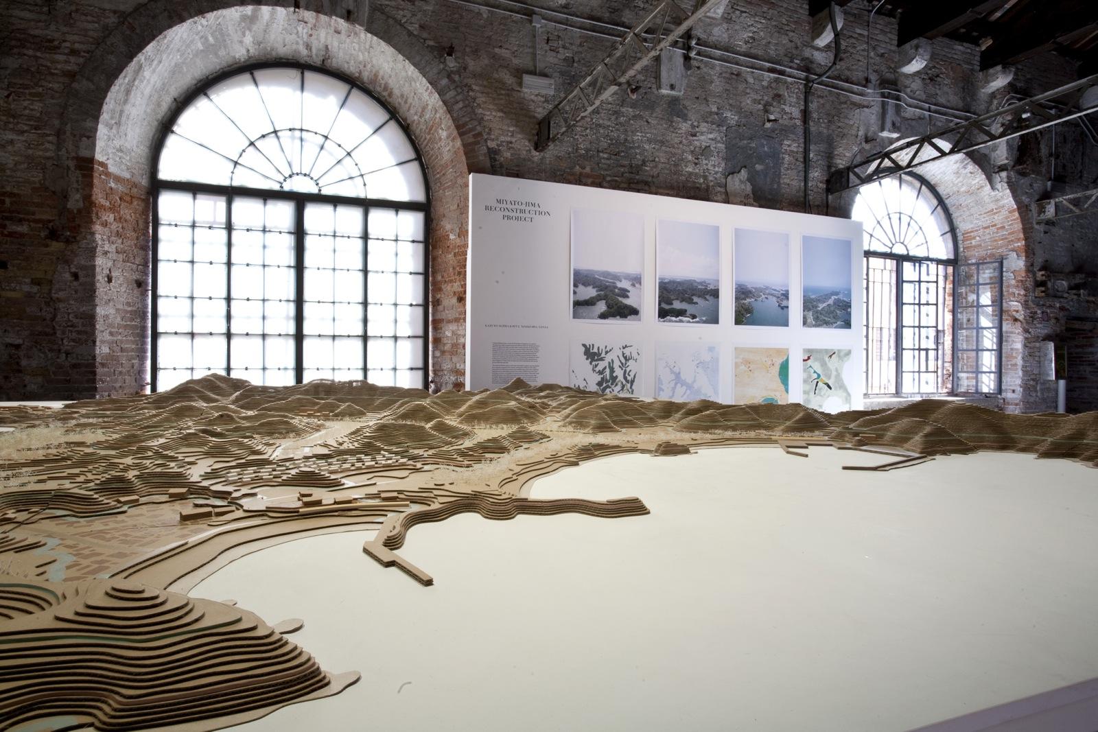 "Contribución a la Bienal de Venecia 2012. ""Miyato-jima reconstruction project"" por Kazuyo Sejima + Ryue Nishizawa/ Sanaa"