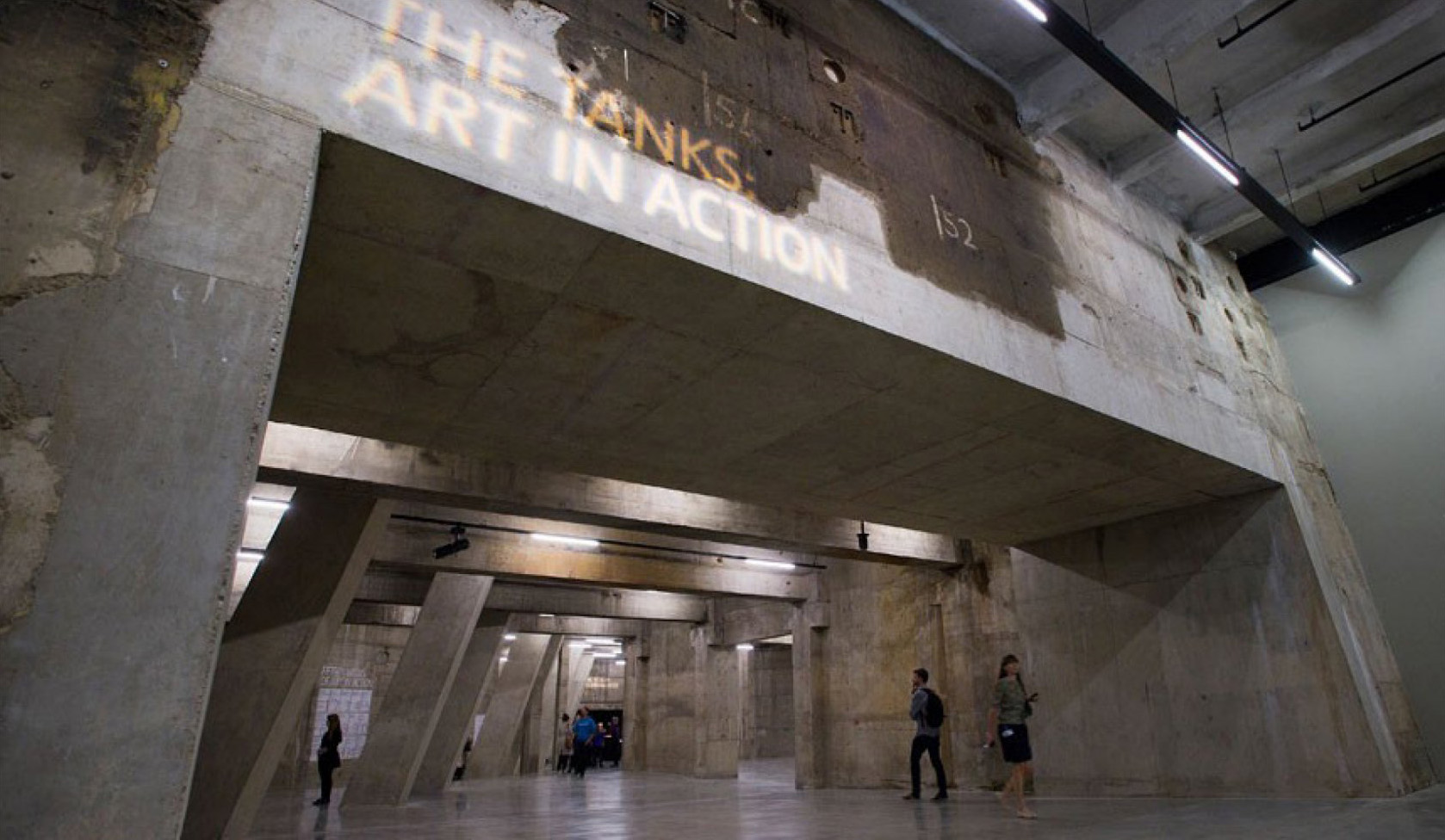 The Tanks Foyer en la Tate Modern