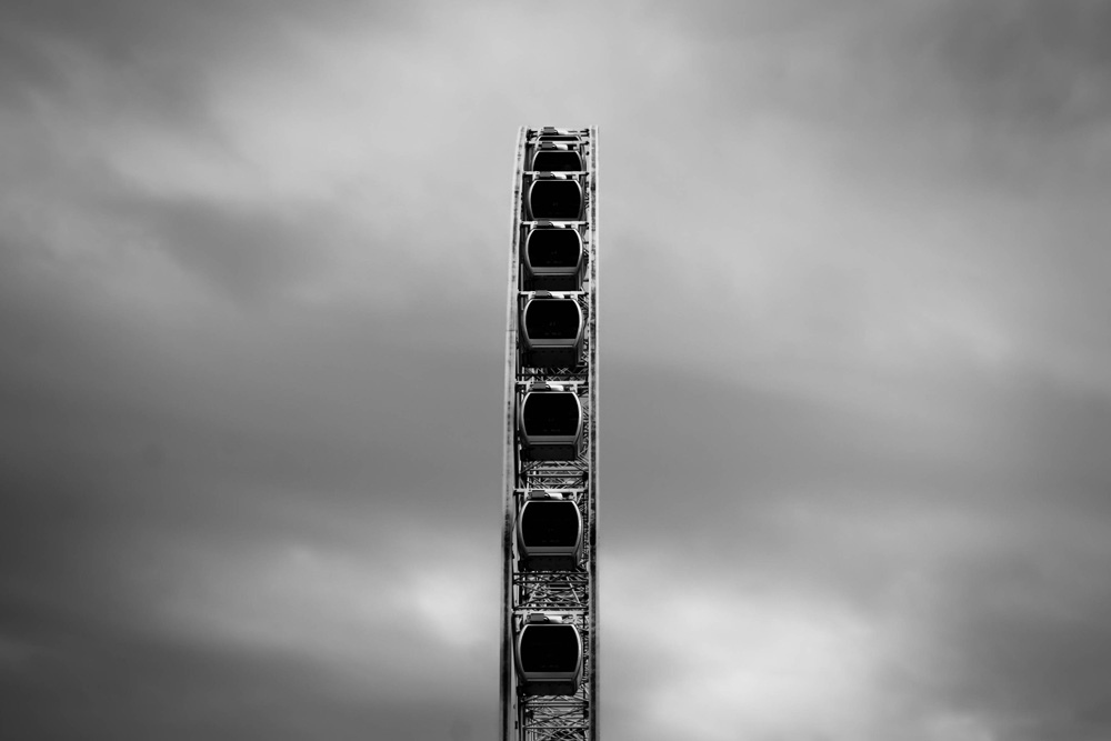 Ferris Wheel, Adult Only! Brisbane, QLD, Australia. © Ronald Frère