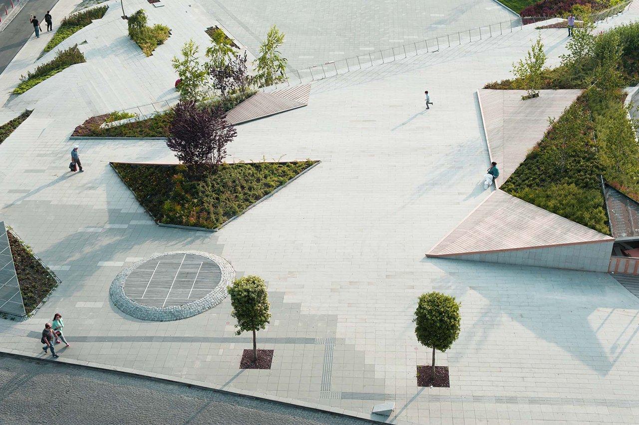 Şişhane Park, Istanbul, by SANALarc. Photography © SANAL architecture | urbanism