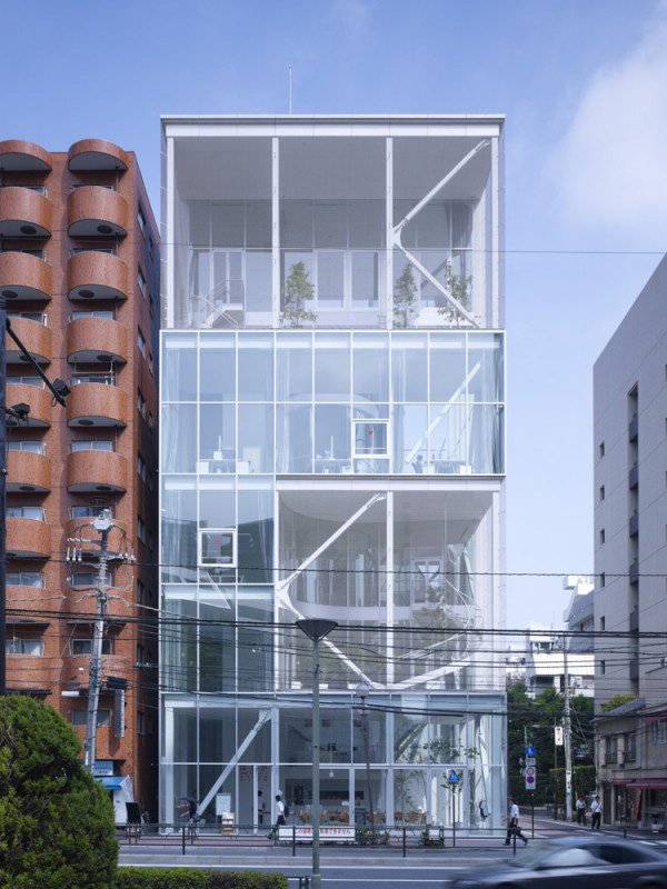 Casa Shibaura por Kazuyo Sejima. Fotografía © Shibaura House