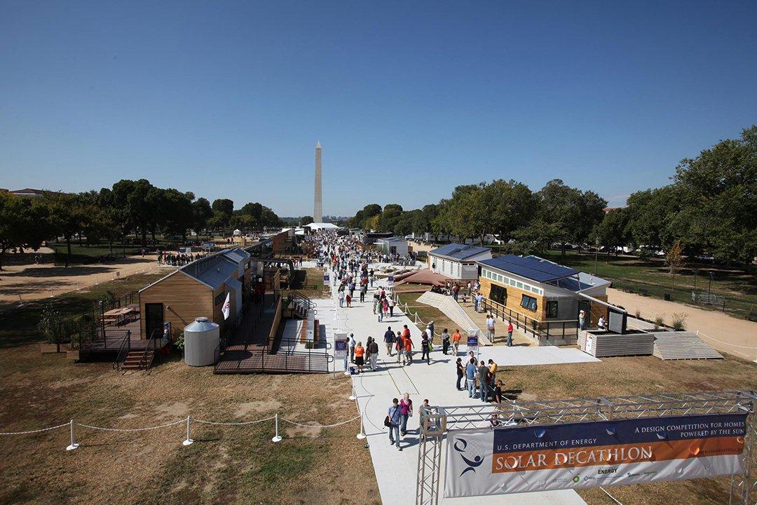 Solar Decathlon, 2014. Versailles, France