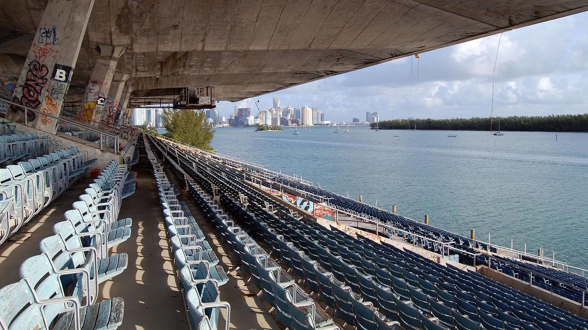 Miami Marine Stadium b...