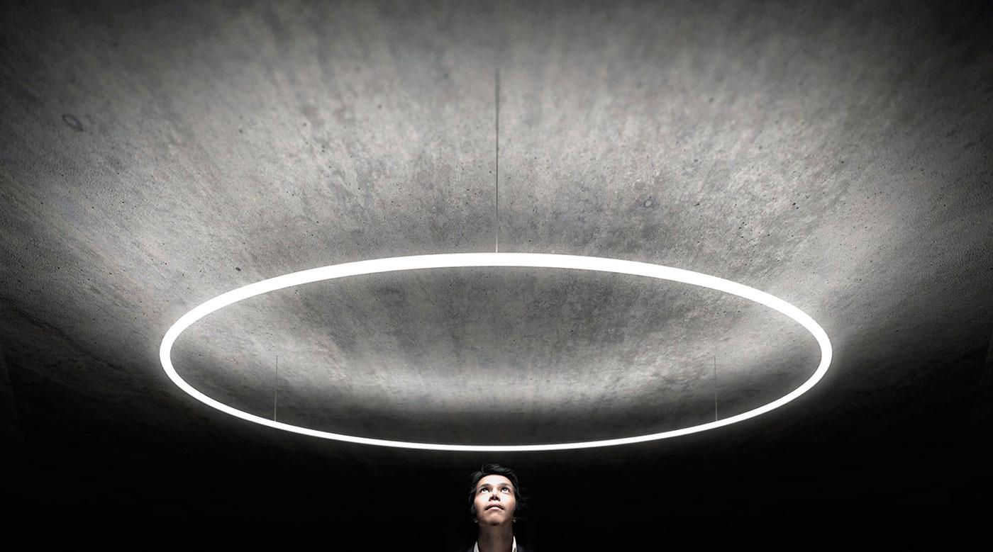Square Led Pendant Light