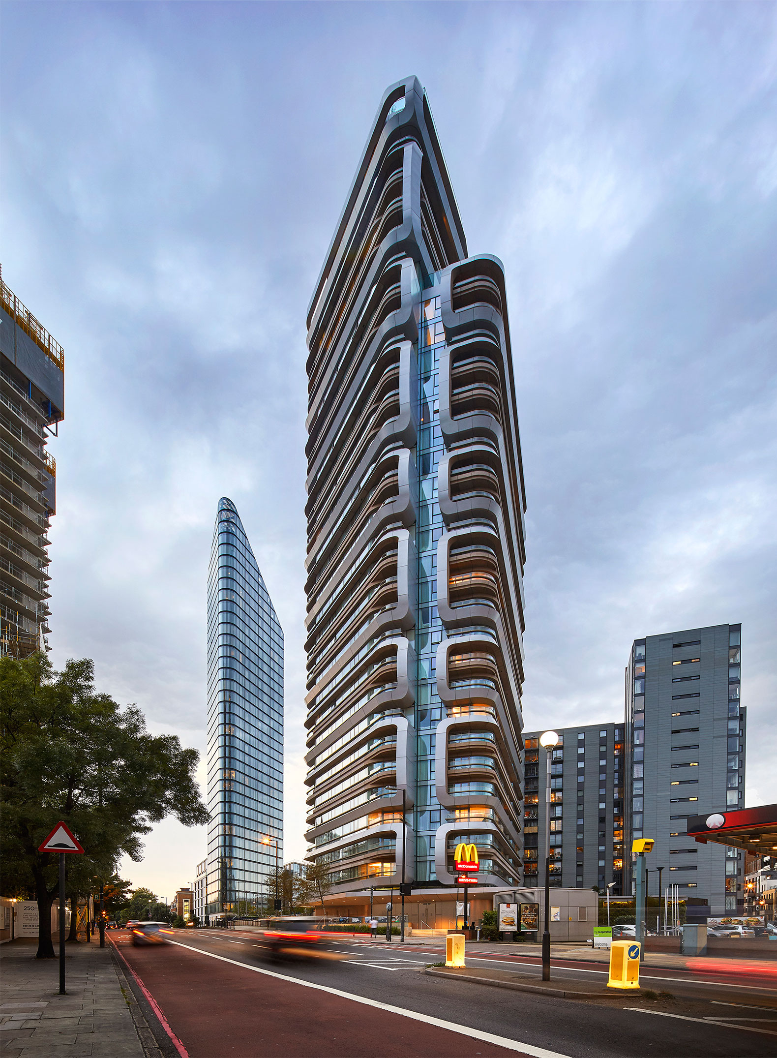 Unstudio Completed The Canaletto Tower In London Metalocus