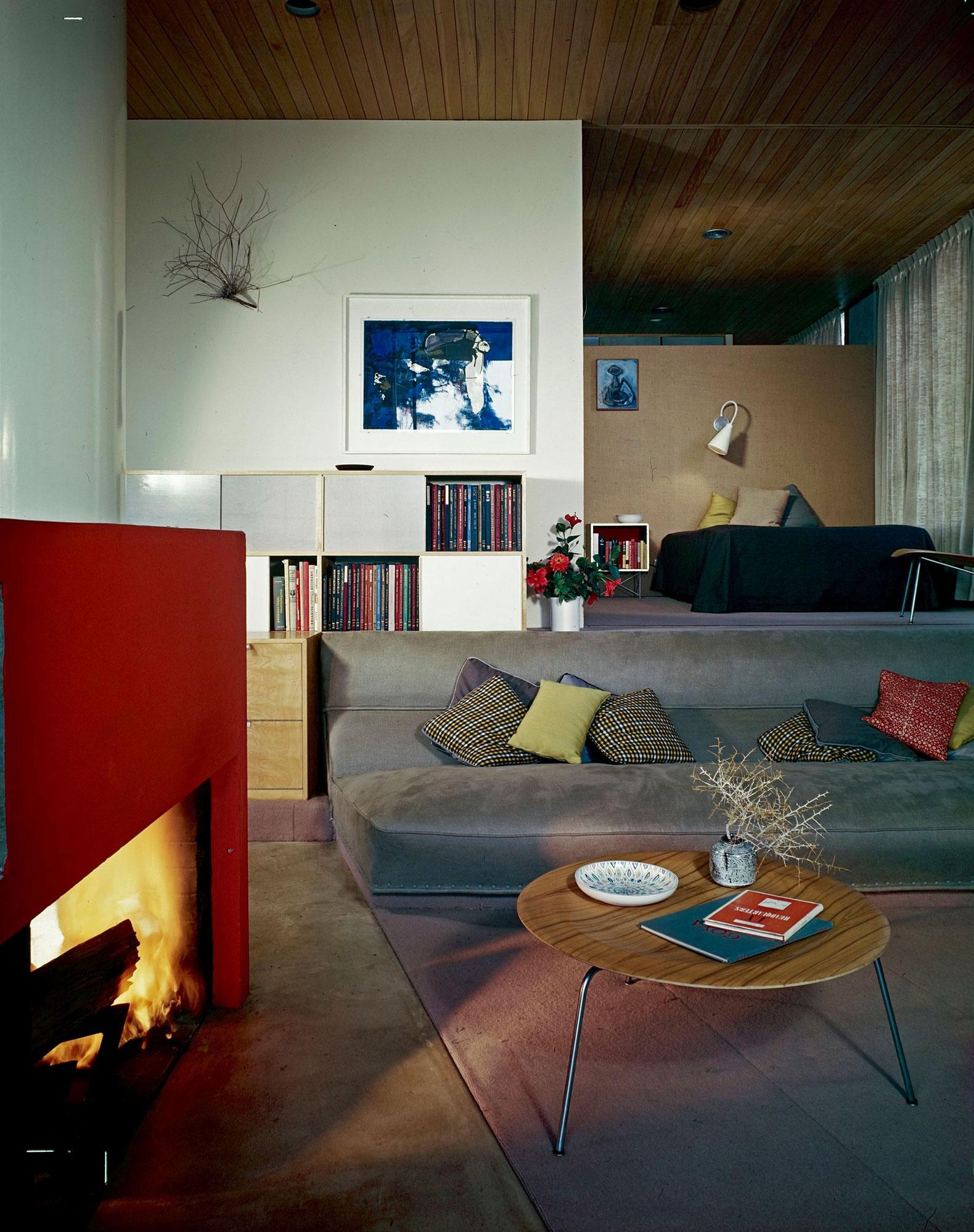 The Entenza House (Case Study #9) By Charles U0026 Ray Eames, Eero Saarinen U0026  Associates