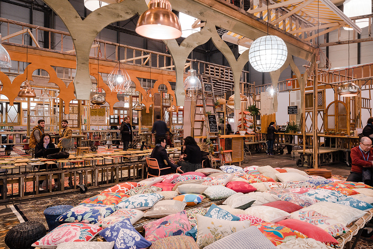 Izaskun Chinchilla Vip Vintage At Arcomadrid Metalocus # Muebles Bazar Santa Sofia
