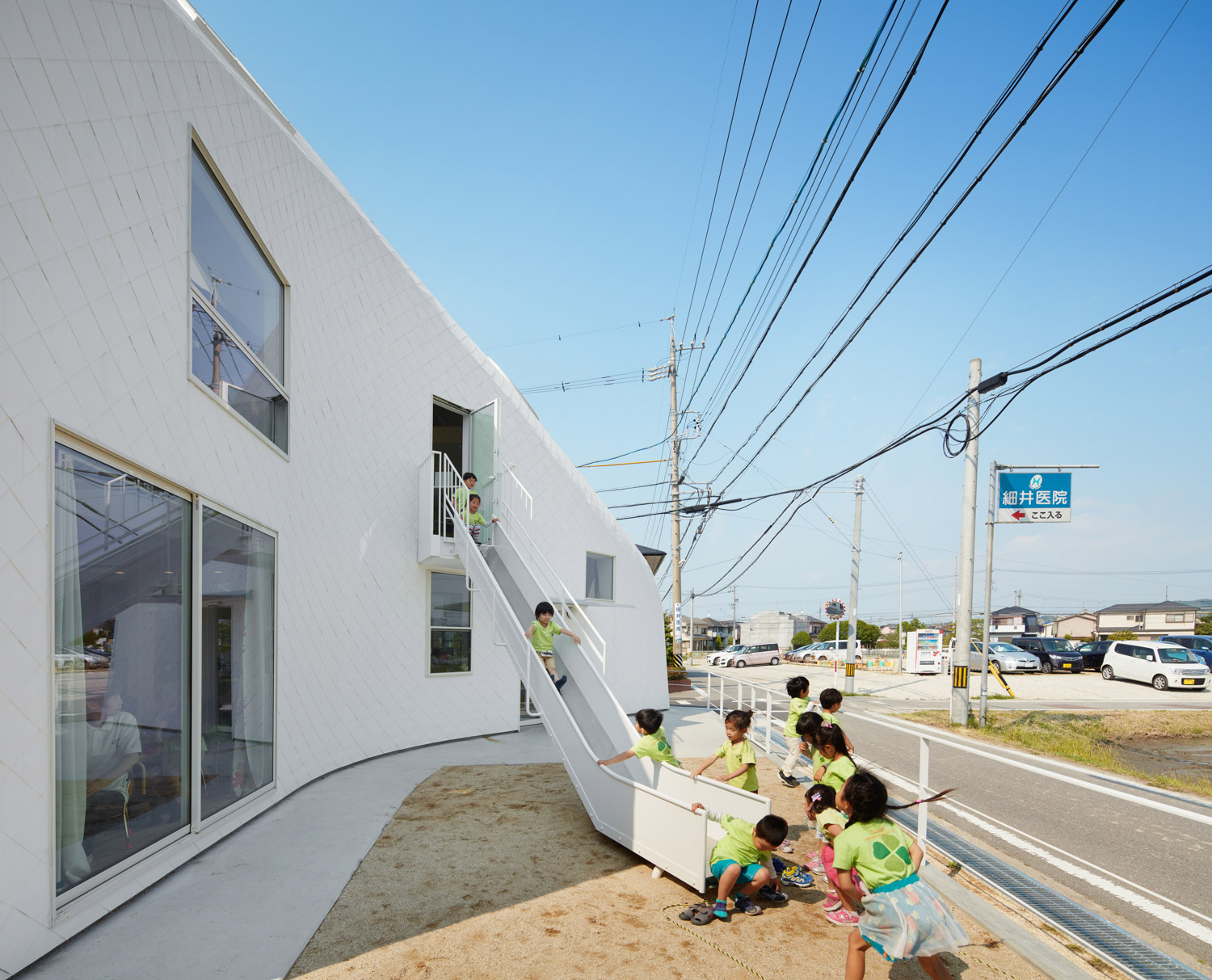 MAD Architects Transforms Two Story Home Into A Kindergarten