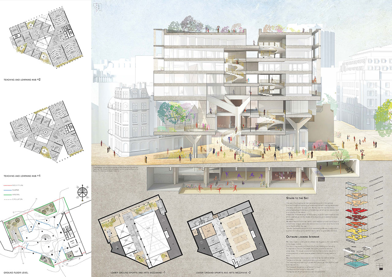 Grafton Architects Won The Paul Marshall Building Competition