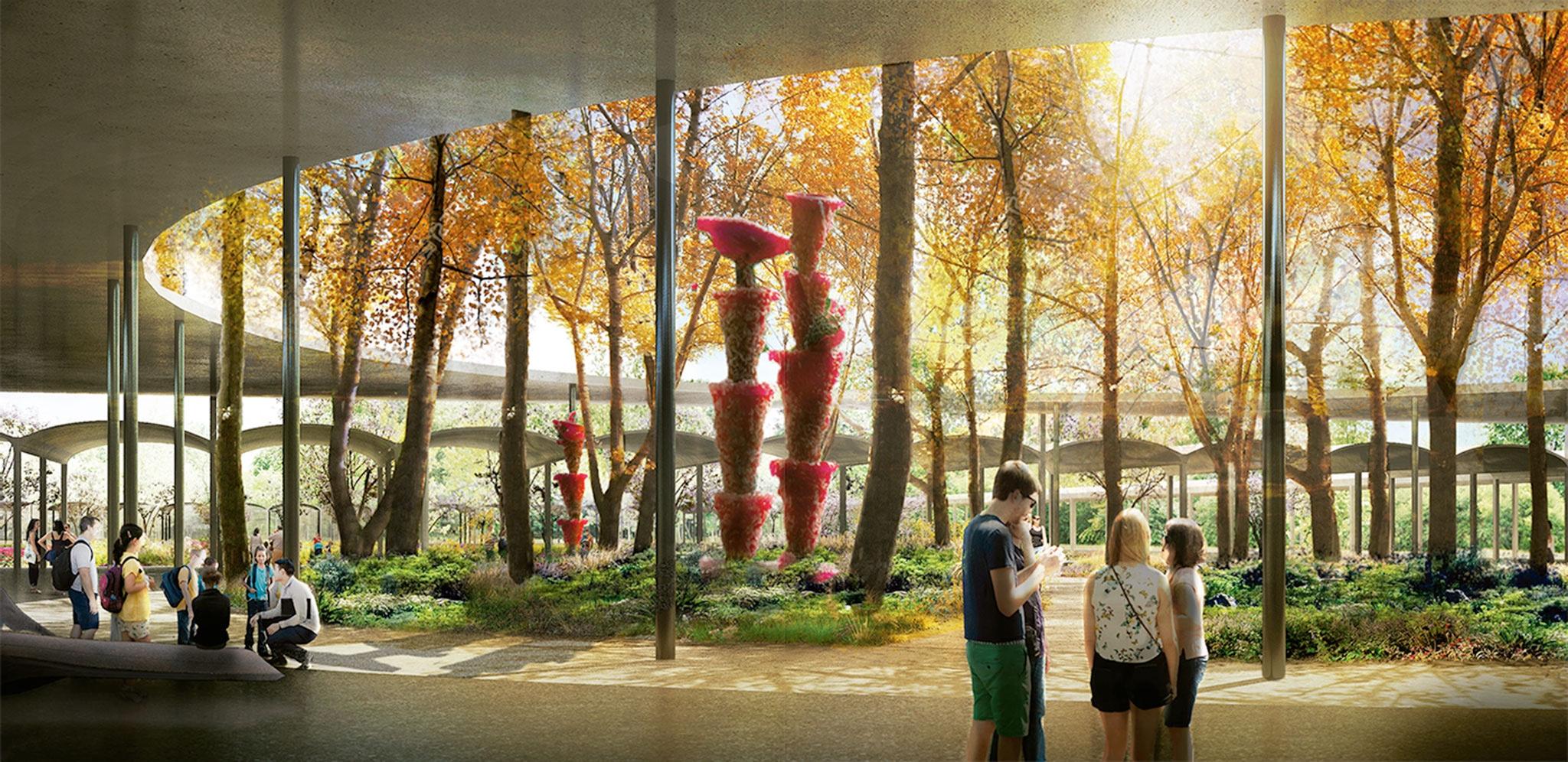 Approved Houston Botanic Garden master plan design by West 8 | METALOCUS