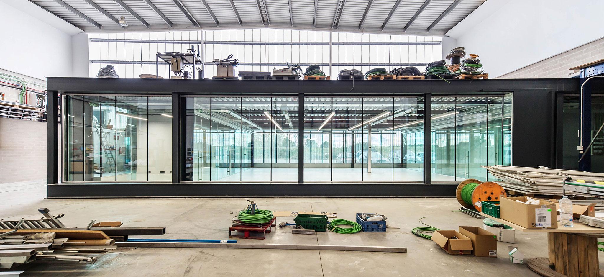 Rehabilitaci n de oficinas industriales por scar miguel for Oficinas industriales