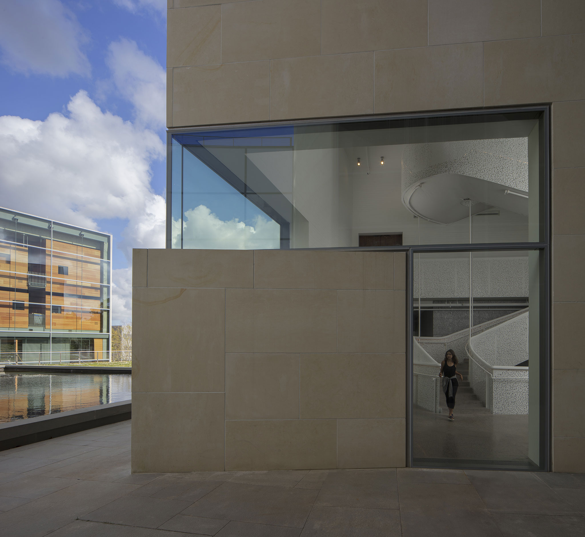 Lewis Arts Complex by Steven Holl Architects and BNIM Architects ...