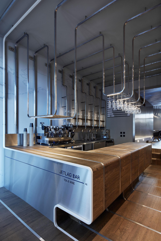 JETLAG bar tetería y vinoteca por Mimosa architekti | METALOCUS