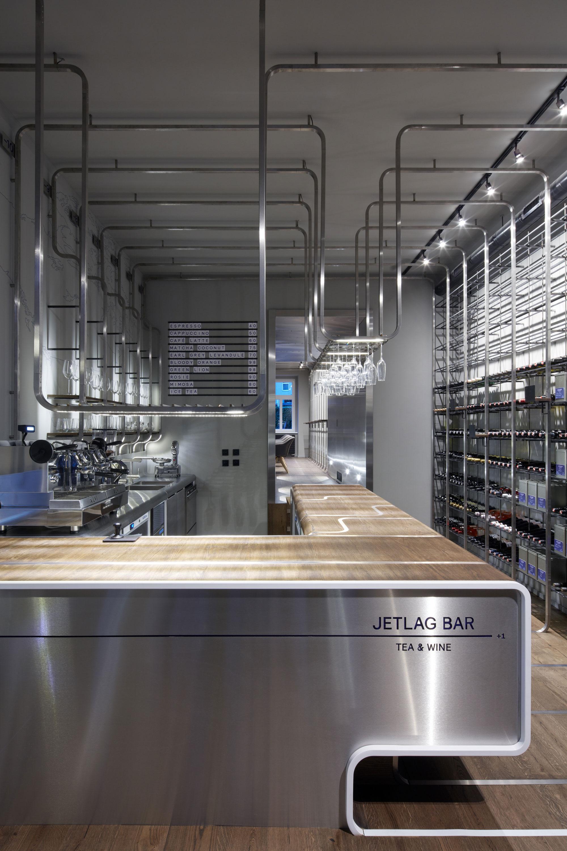 JETLAG tea & wine bar by Mimosa architekti   METALOCUS