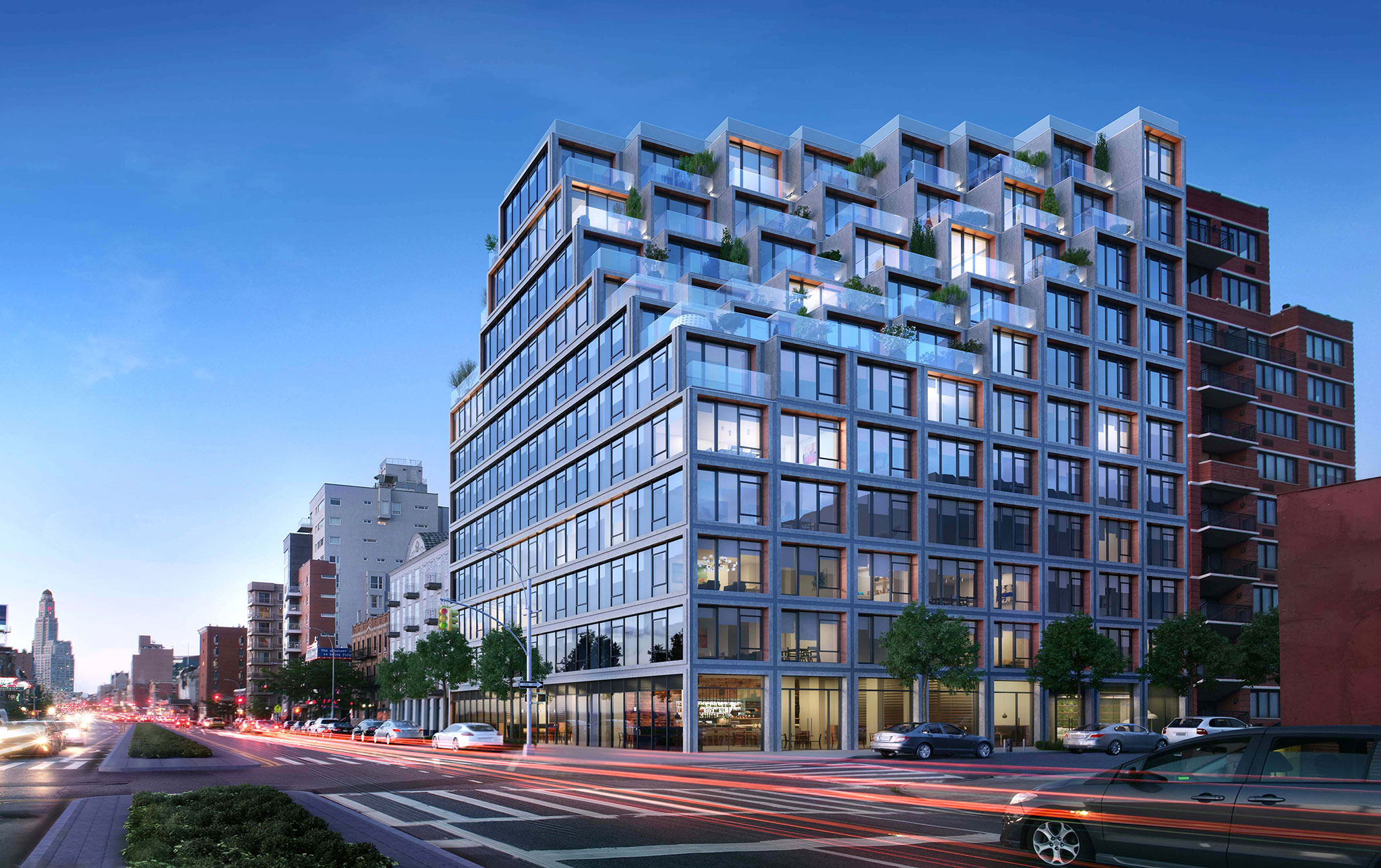 251 1st street by oda new york pixel housing metalocus for New york based architecture firms
