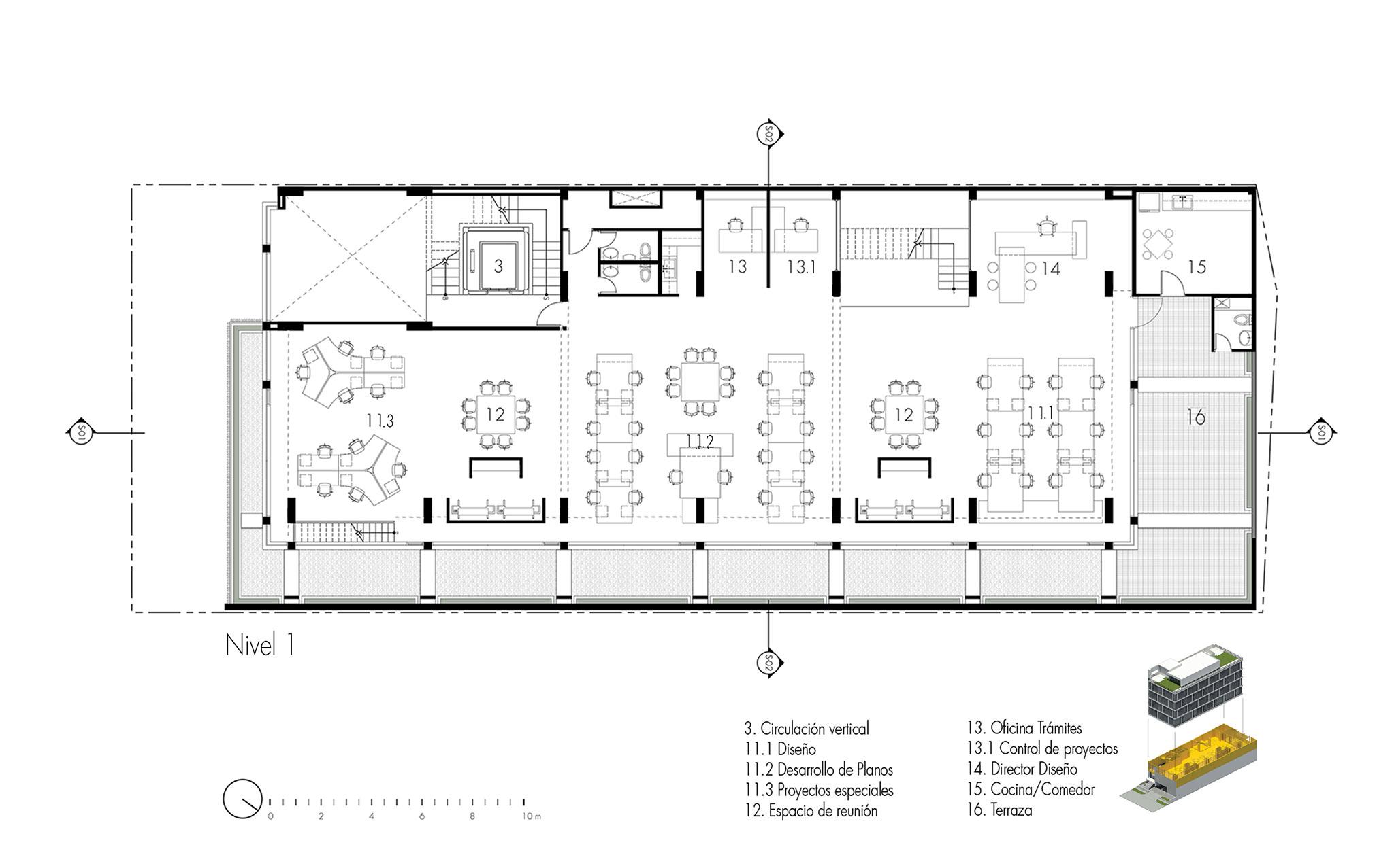 Ventura office un edificio de oficinas en ciudad de panam for Arquitectura de oficinas